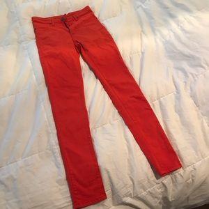 Carmar Skinny Jeans Red Size 27